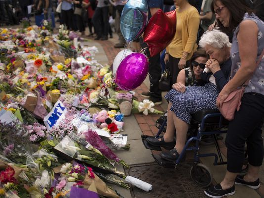 Manchester victims and their flowers